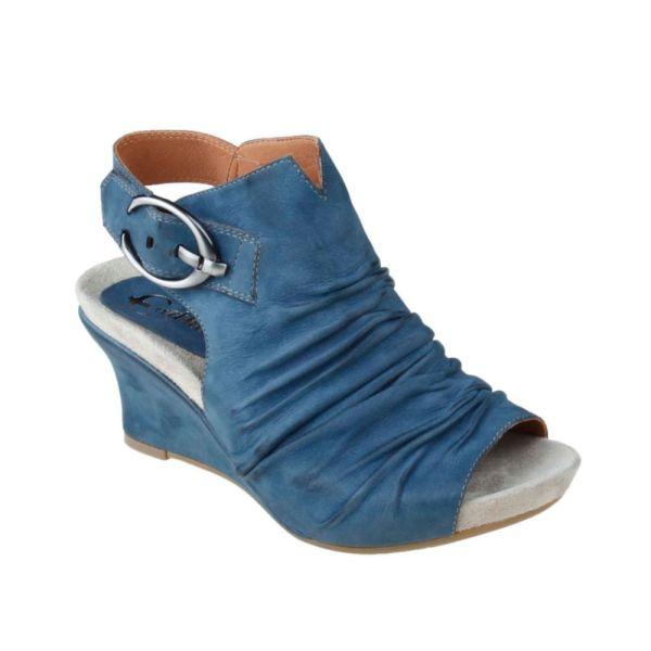Earthies Bonaire Wedge Sandals In Blue - Lyst