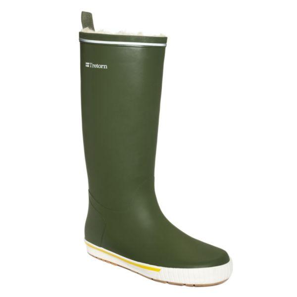 Lyst - Tretorn Skerry Reslig Vinter Rain Boots In Green