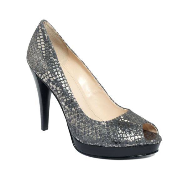 Lyst - Calvin Klein Sandie Pumps In Gray