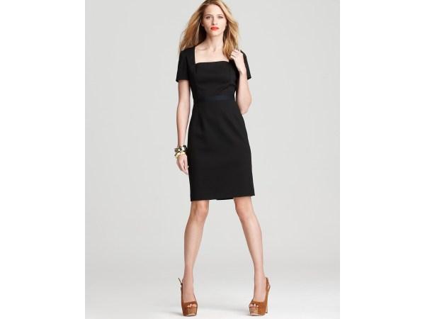 T Tahari Kay Dress In Black Lyst