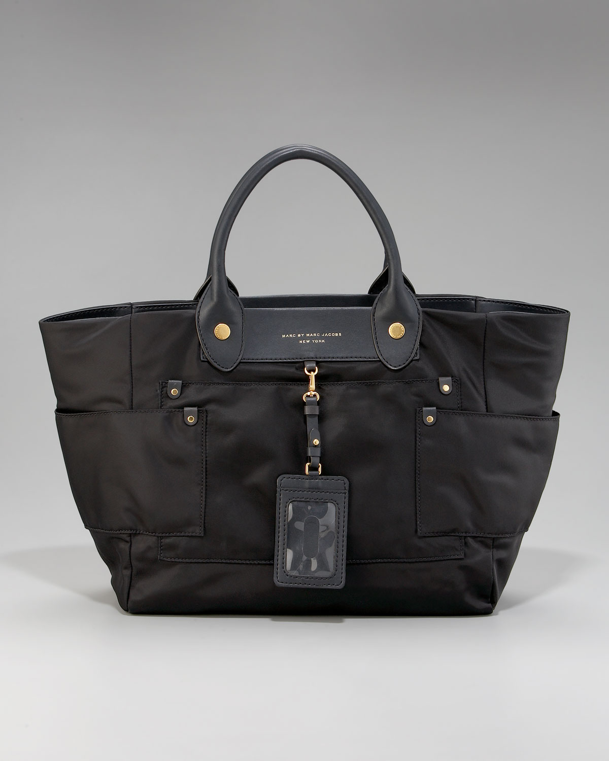 Marc By Marc Jacobs Preppy Nylon Hayley Tote in Black - Lyst