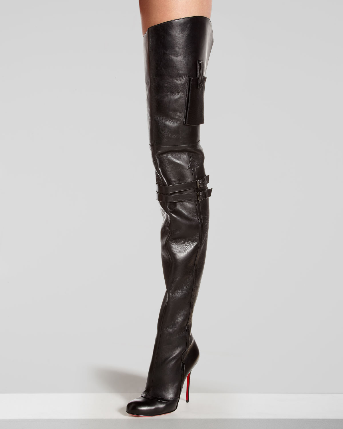 ff3373f8fbb Christian Louboutin Over The Knee Boots - Usefulresults