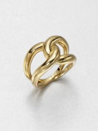 Michael Kors Twist Ring in Gold | Lyst