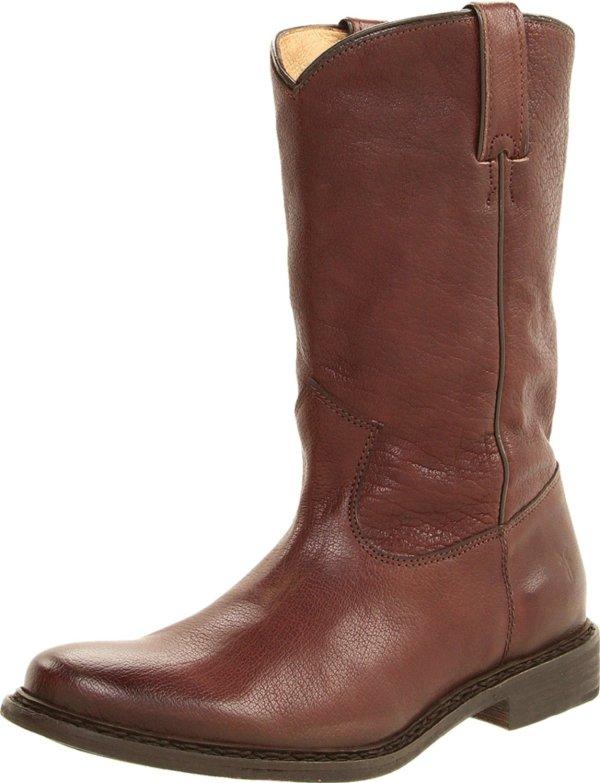 Frye Mens Marco Roper Boot In Brown Men Dark Lyst