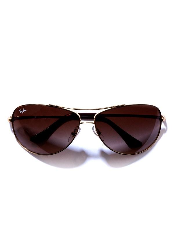 Ray-ban Bubble Wrap Aviator Sunglasses In Gold Men Lyst
