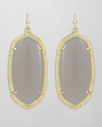 Kendra Scott Elle Earrings Slate in Gray (slate) | Lyst