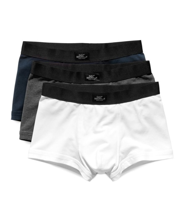 & Three Pack Boxer Shorts In White Men Lyst