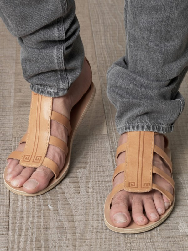 Lyst - Ancient Greek Sandals Dionysos In Natural