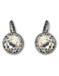 Swarovski Bela Faceted Crystal Drop Earrings in Silver ...