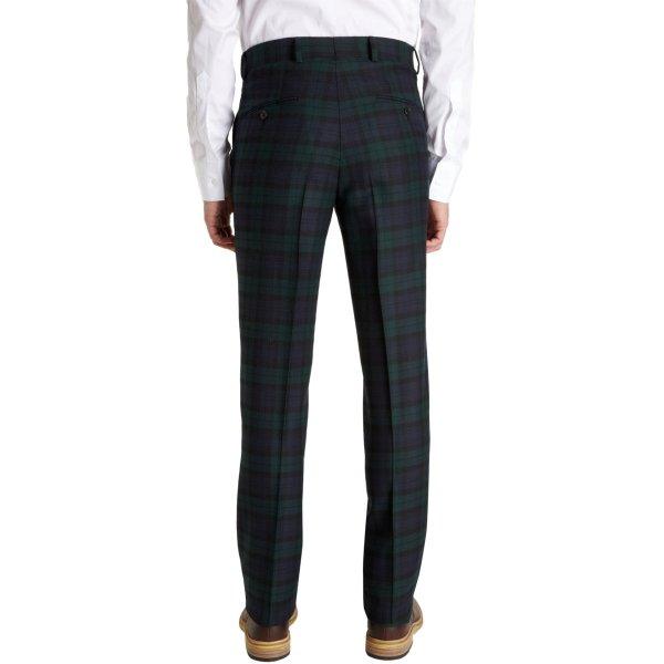 Lyst - Jack Spade Blackwatch Plaid Trousers In Green Men