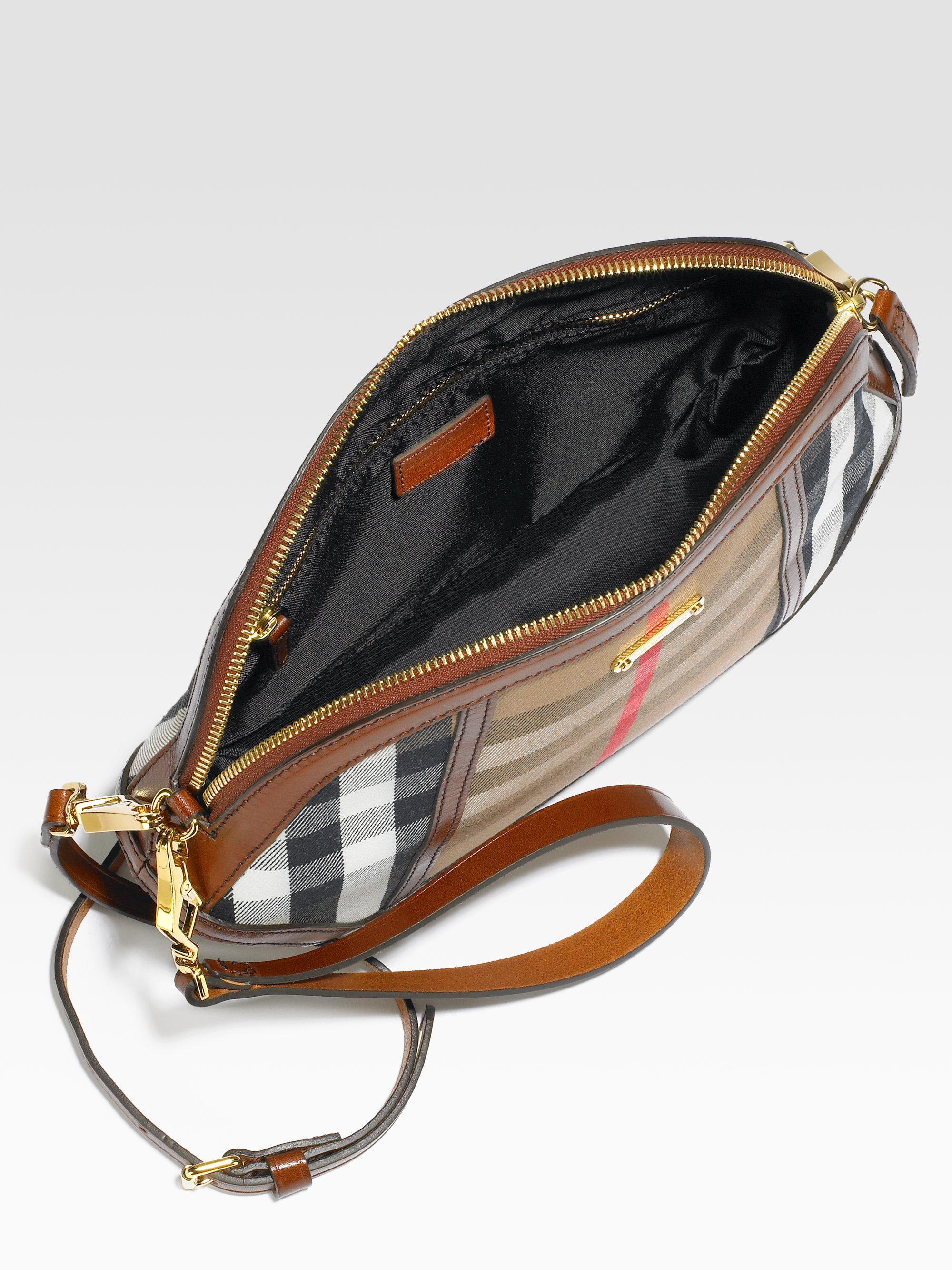 Burberry Orchard Crossbody Bag in Dark Tan (Brown) - Lyst