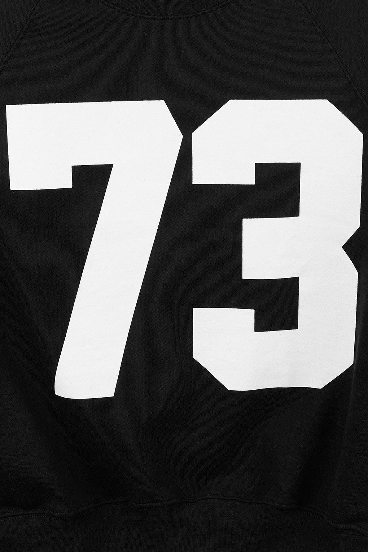 Lyst  Topshop Number 73 Sweat In Black