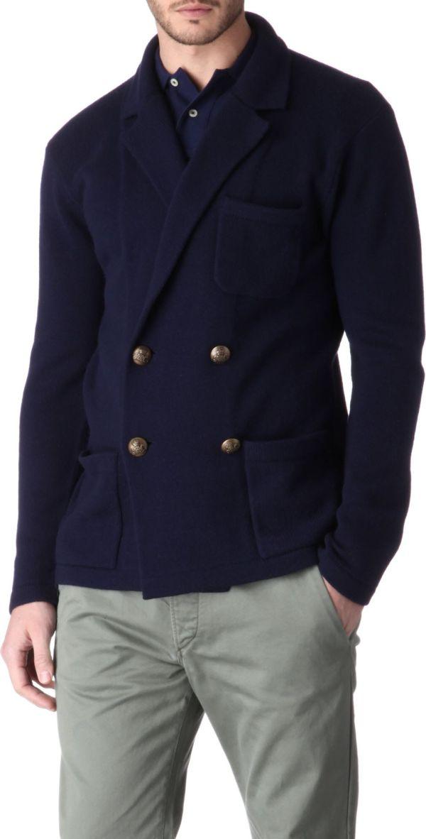 Ralph Lauren Cashmere Blazer In Blue Men Navy Lyst