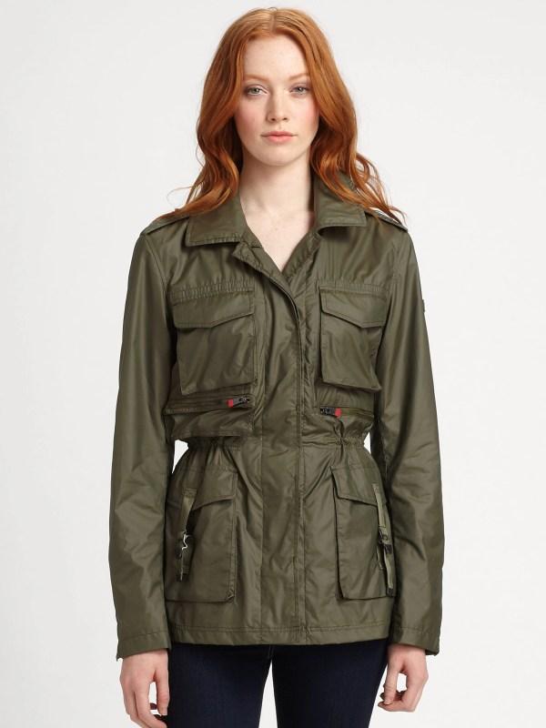 Lyst - Hunter Waxed Safari Jacket In Green
