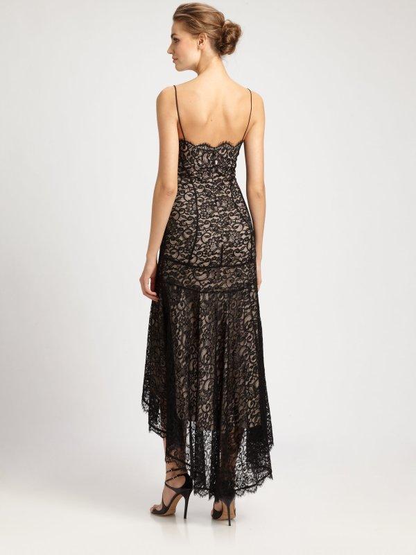 Lyst - Nicole Miller Hilo Lace Dress In Black