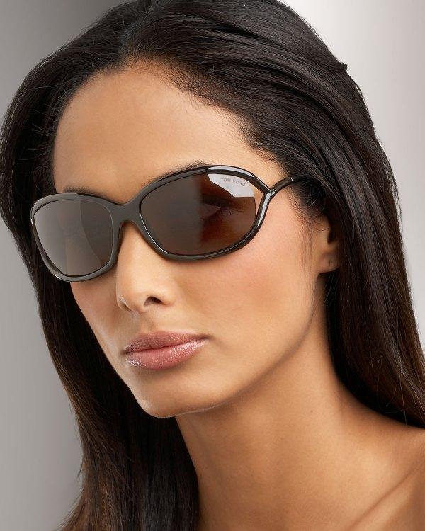 Lyst - Tom Ford Jennifer Sunglasses Dark Brown In