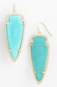 Kendra Scott 'Skylar Spear' Statement Earrings - Turquoise ...