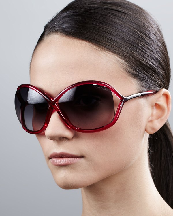 Lyst - Tom Ford Whitney Bold Sunglasses In Pink