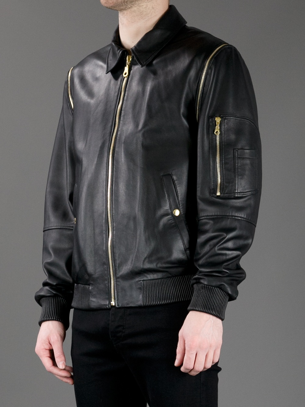 Kenzo Embroidered Bomber Jacket in Black for Men  Lyst