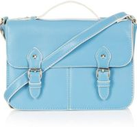 Topshop Blue Satchel