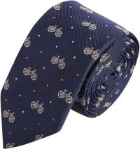 Paul Smith Navy Bicycle Print Silk Tie in Blue for Men ...