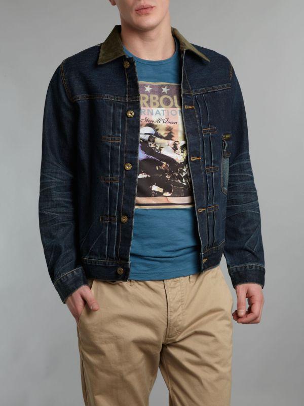 Steve McQueen Denim Jacket