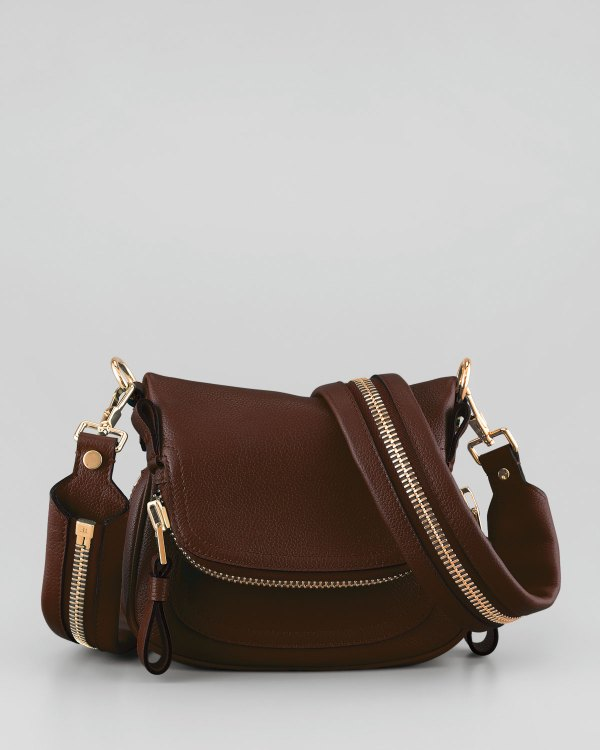 Tom Ford Jennifer Mini Crossbody Bag In Brown Lyst