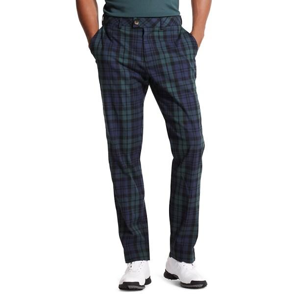 Tommy Hilfiger Golf Plaid Pant In Blue Men Blackwatch