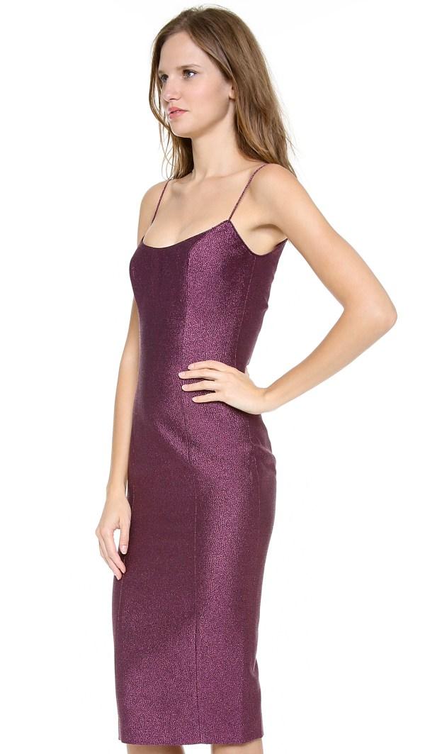 L'wren Scott Sexy Cami Dress In Purple - Lyst