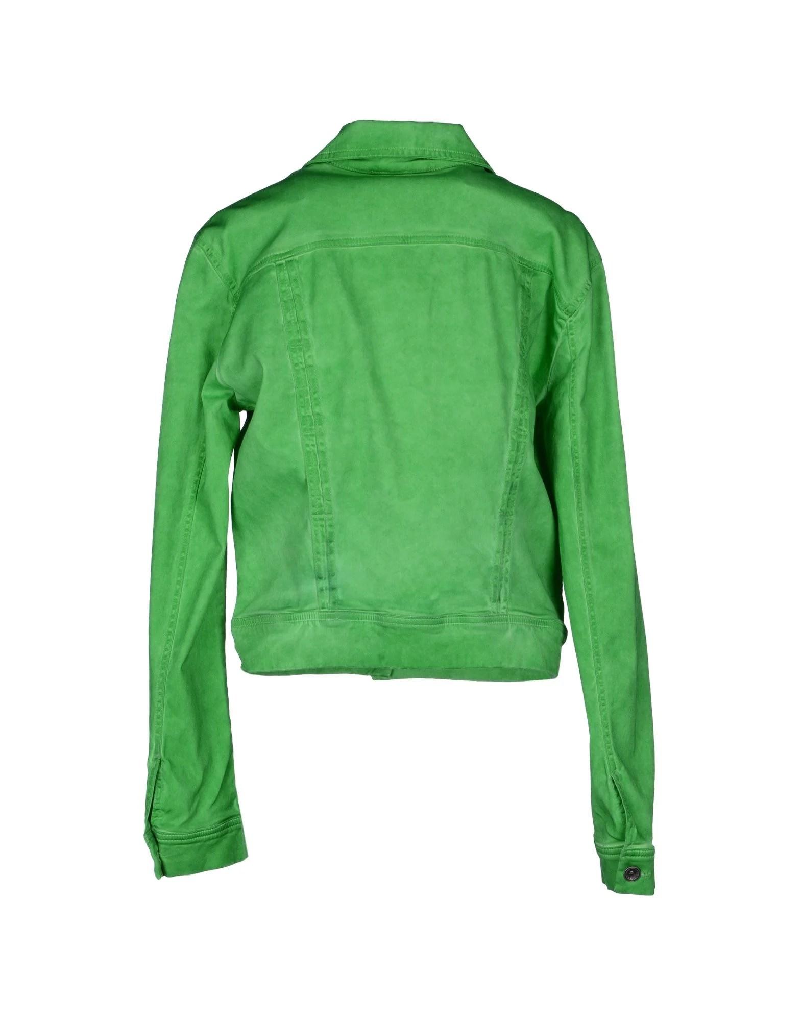 Plein Sud Jeanius Jacket In Green Lyst
