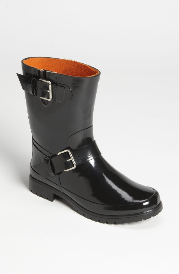 Sperry Top-sider Falcon Rain Boot In Black Lyst