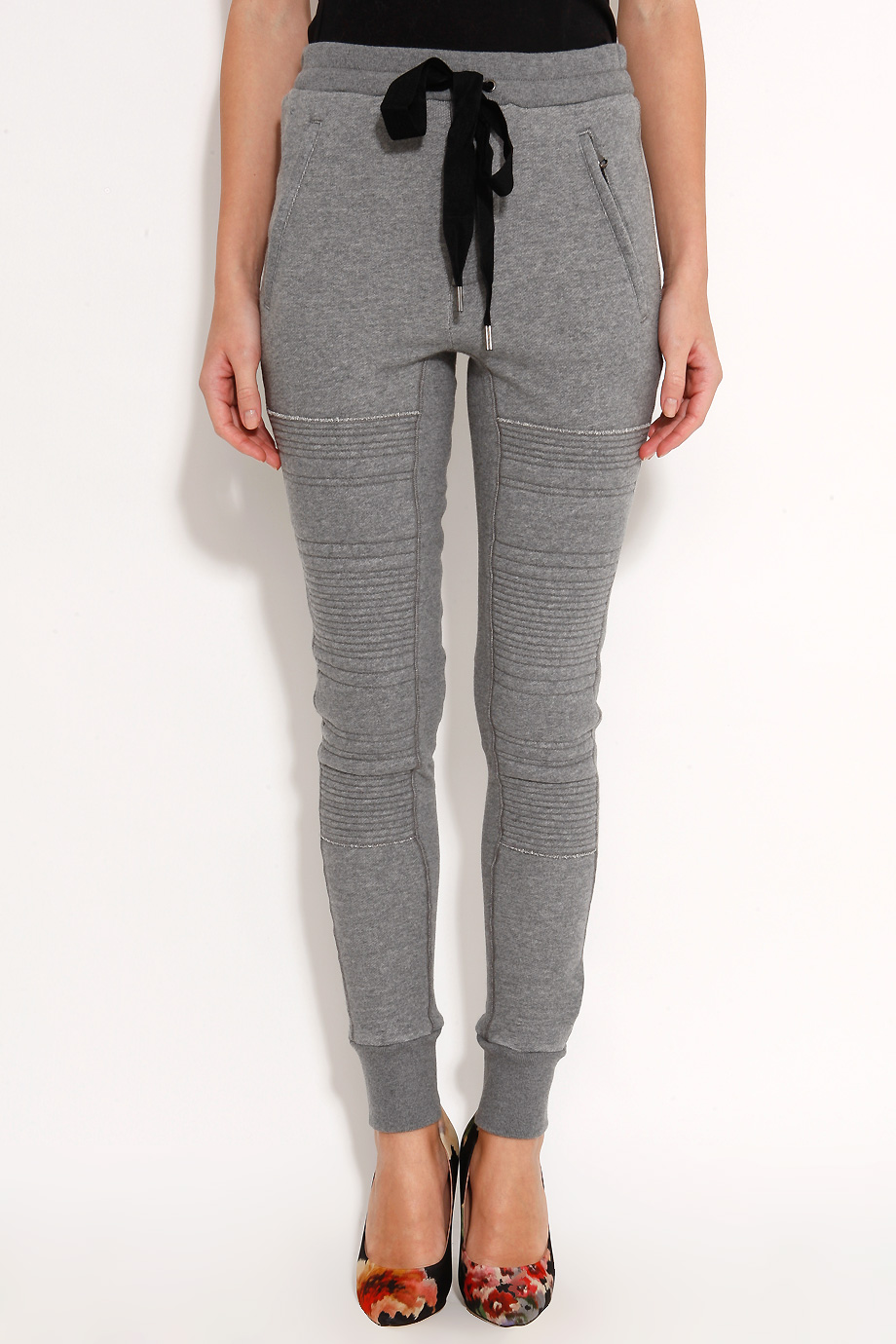 3.1 Phillip Lim Stitched Panel Sweatpants in Grey (Gray) - Lyst