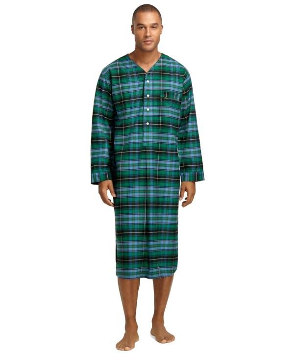 Men's Flannel Nightshirts