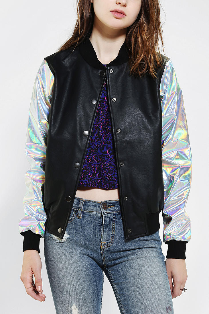 Lyst  Urban Outfitters Cult By Lip Service Hologram