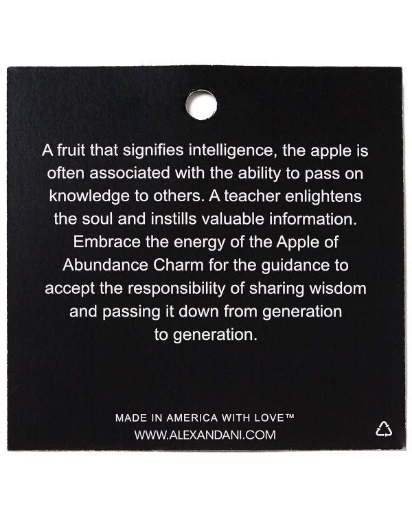 Alex And Ani Abundance Apple Bangle In Metallic Lyst