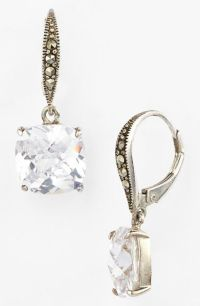 Judith Jack Aurora Stone Drop Earrings in Silver (Silver ...