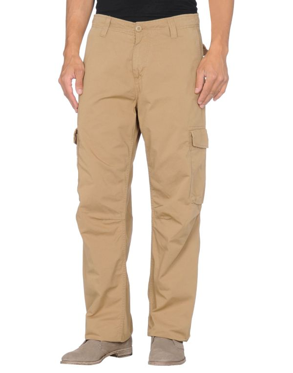 Carhartt Casual Pants In Khaki Men Lyst