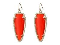 Kendra scott Sky Earrings in Red | Lyst