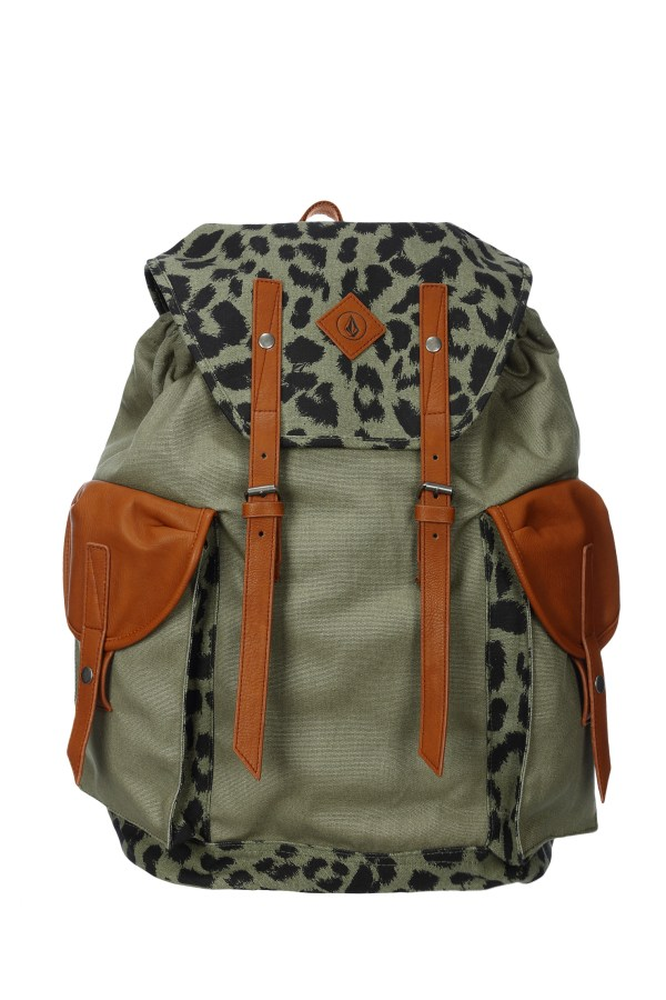 Volcom Backpack In Green Lyst