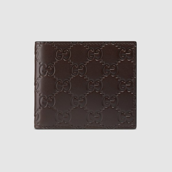 Gucci Signature Wallet In Brown Men Lyst