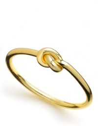 Lord & taylor 18k Gold Over Sterling Silver Knot Ring in ...