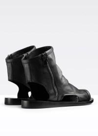 Lyst - Vince Taylor Cut-out Sandal Bootie in Black