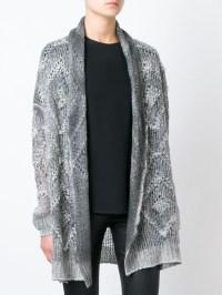 Grey Shawl Collar Cardigan - English Sweater Vest