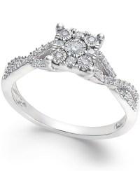 No vendor Princess-cut Diamond Promise Ring (1/4-ct. T.w ...