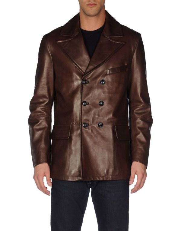 Lyst - Trussardi Blazer In Brown Men