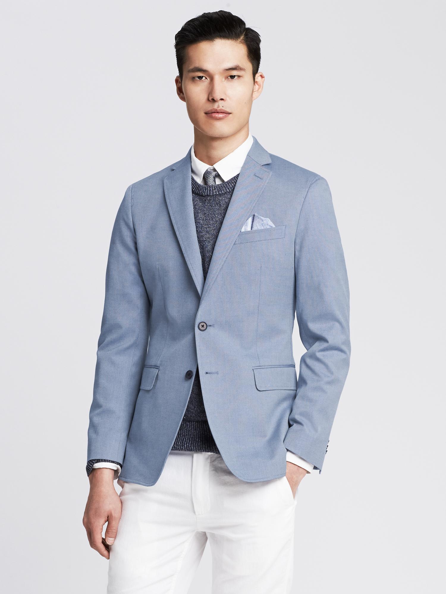 Mens Light Blue