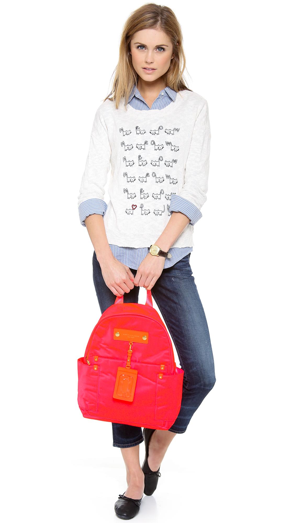 Marc Marc Jacobs Pink Preppy