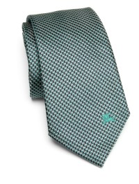 Burberry Textured Mulberry Silk Tie in Green for Men | Lyst