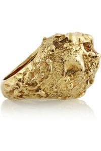 Lyst - Fred Leighton 18karat Gold Nugget Ring in Metallic