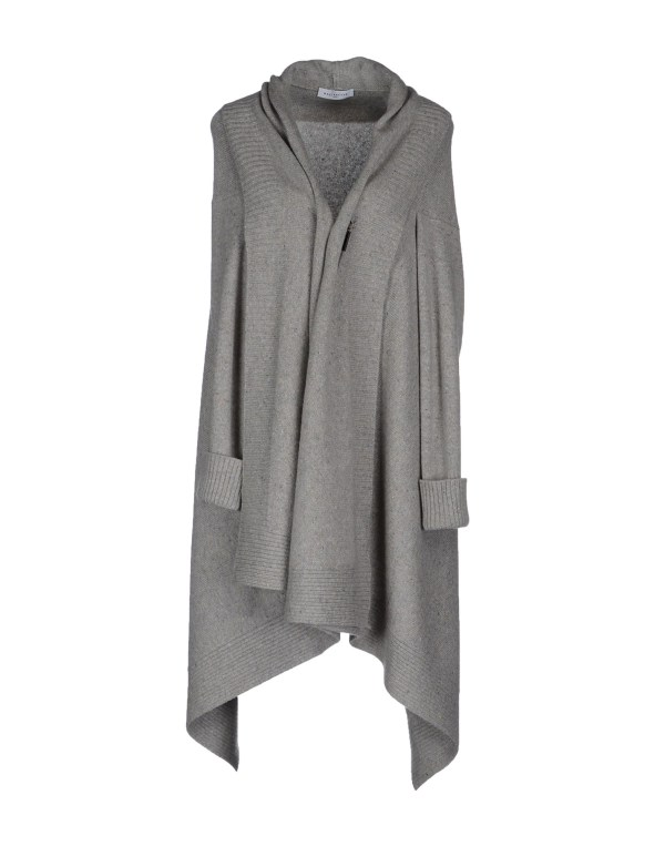 Ballantyne Cashmere Sweater In Gray Light Grey Lyst